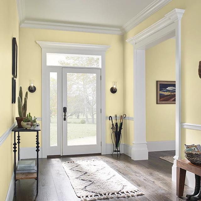 Foyer painted in BARTLETT