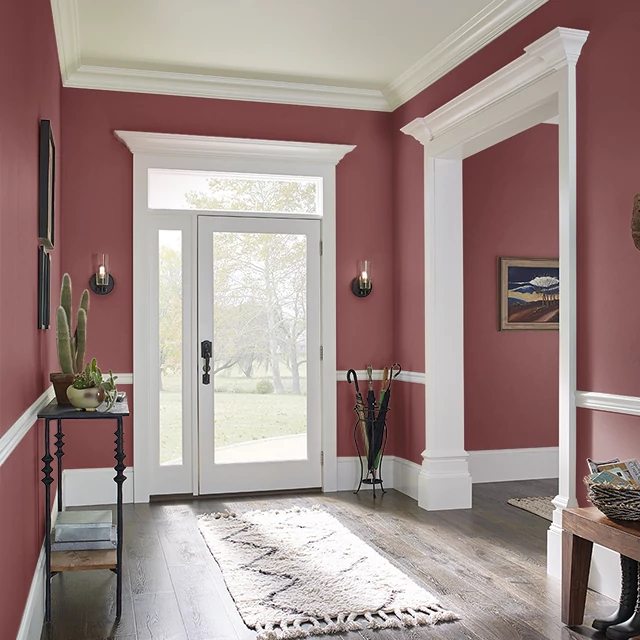 Foyer painted in FRANCESCA