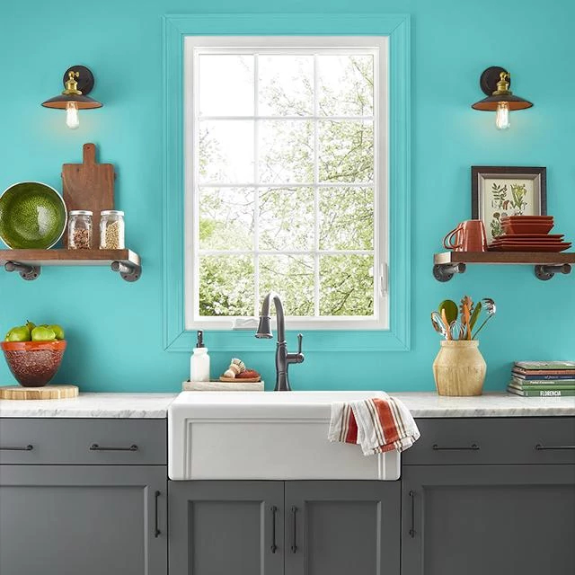 Kitchen painted in WATERTOWN