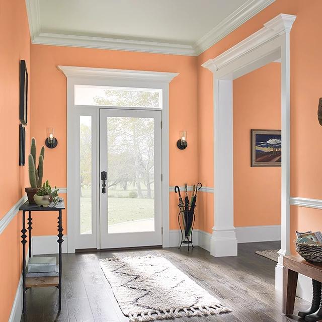 Foyer painted in MISCHIEF