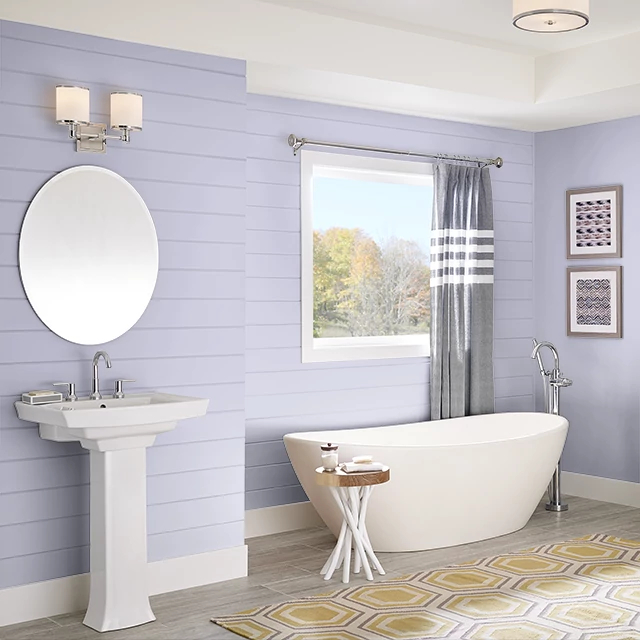 Bathroom painted in SOAPY WATER