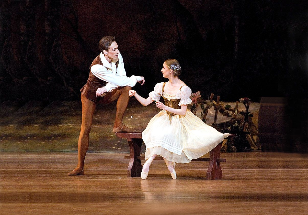 Larissa Ponomarenko and Roman Rykine. Photo by Gene Schiavone.