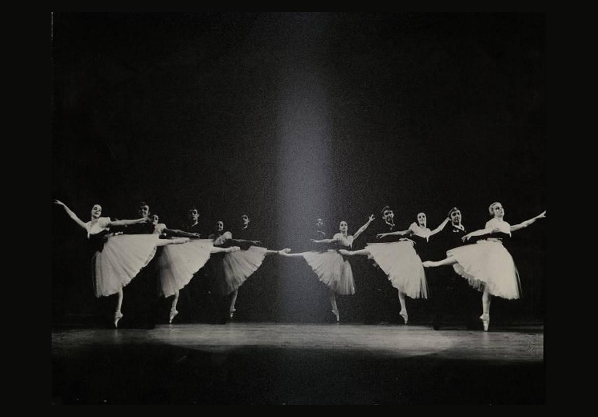 Boston Ballet in George Balanchine's Scotch Symphony ©  The George Balanchine Trust