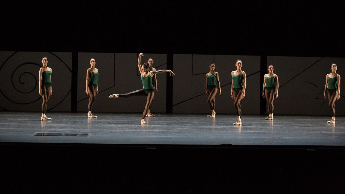 Boston Ballet in William Forsythe's Artifact 2017