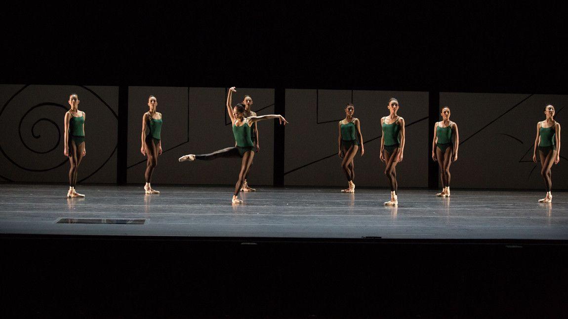 Boston Ballet in William Forsythe's Artifact 2017