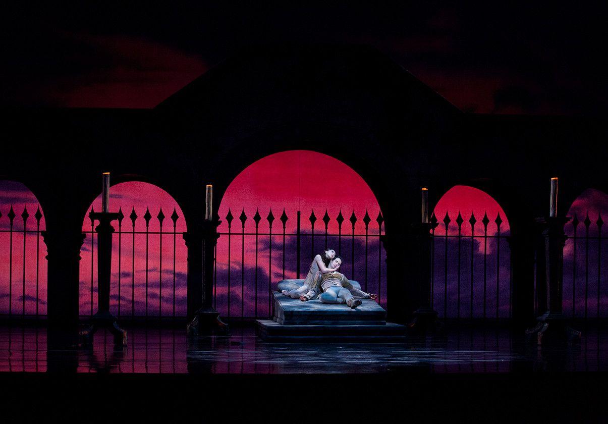 Misa Kuranaga and Nelson Madrigal in John Cranko's Romeo & Juliet. Photo by Rosalie O'Connor
