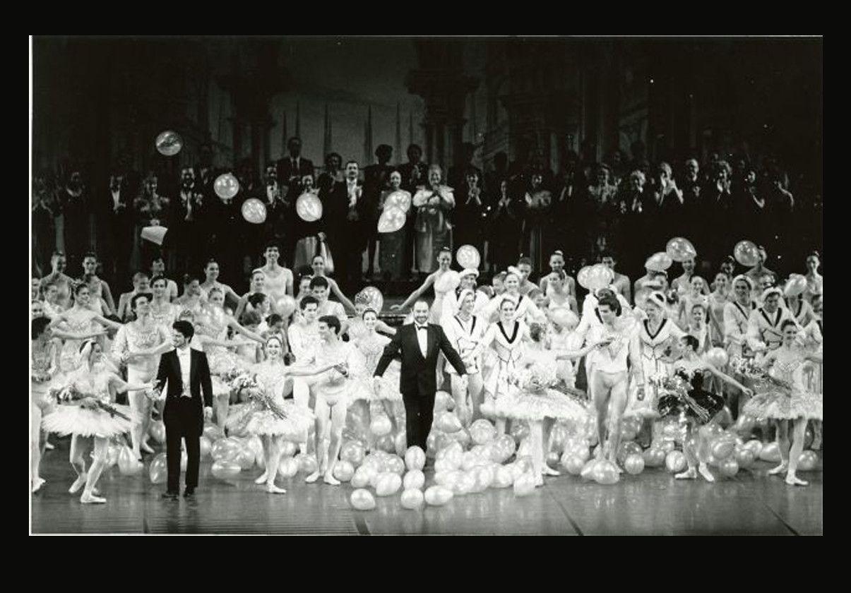 Curtain call 25th anniversary gala, March 11, 1989