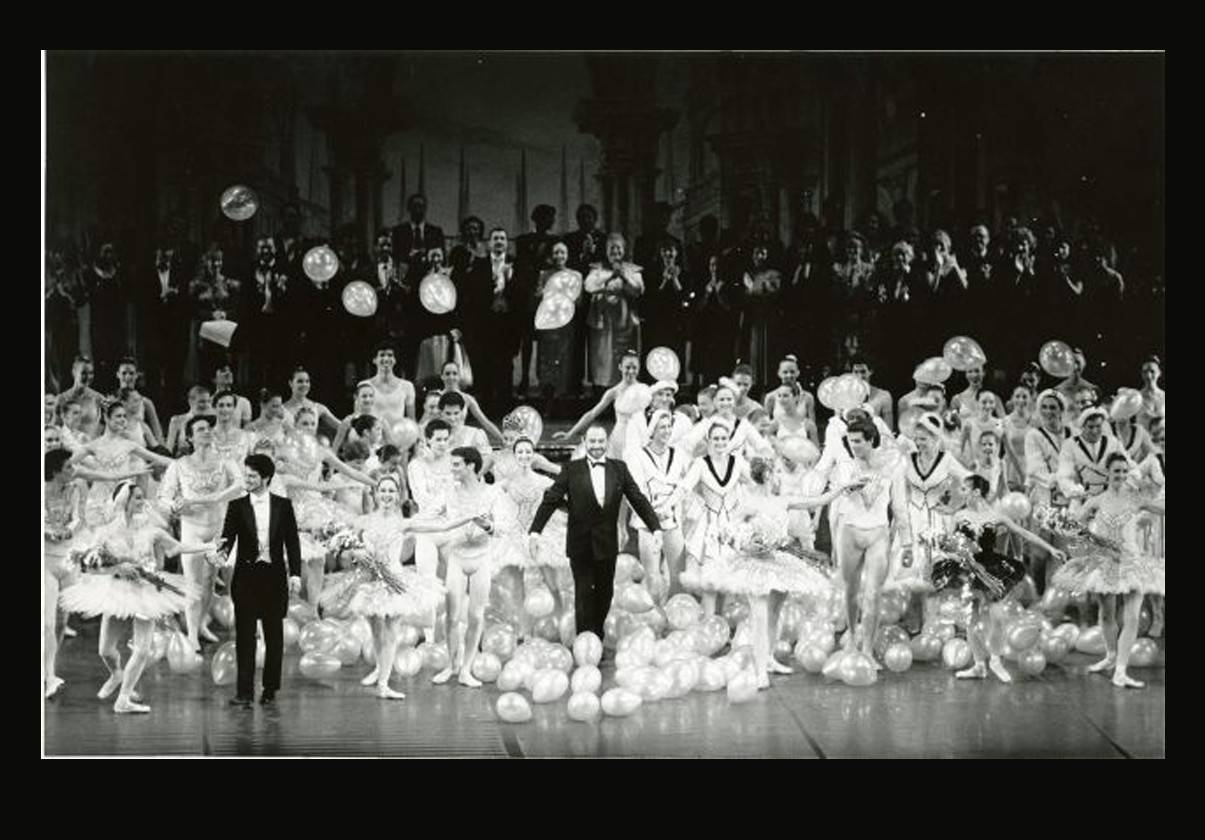 Curtain call 25th anniversary gala, March 11, 1989