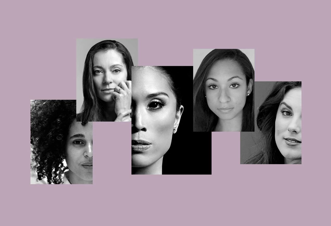 Dancers Lia Cirio, Desean Taber, and Addie Tapp rehearse in studio fro Cirio's upcoming work Lenore