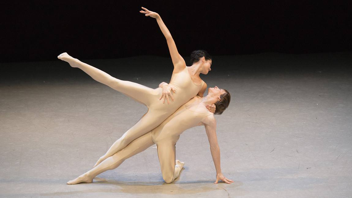 Issac Akiba and Brittany Stone in Leonid Yakobson's Rodin. Photo by Igor Burlak Photography