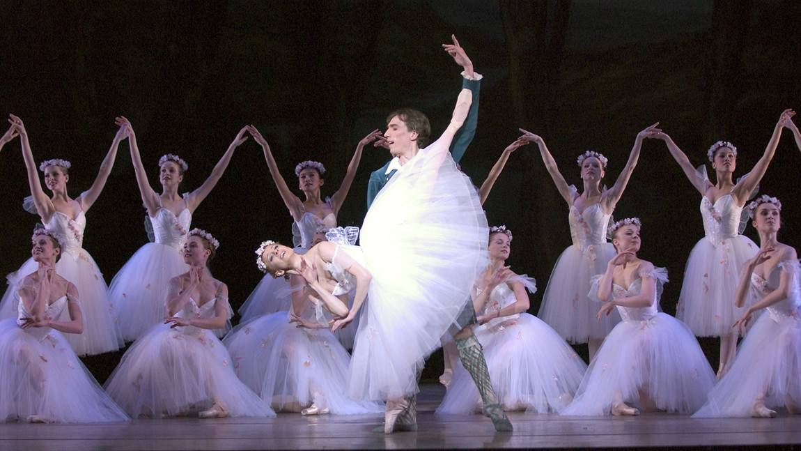 Boston Ballet in August Bournonville's La Sylphide by Angela Sterling