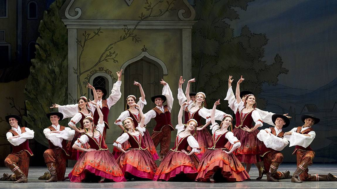 George Balanchine's Coppélia. Photo by Gene Schaivone