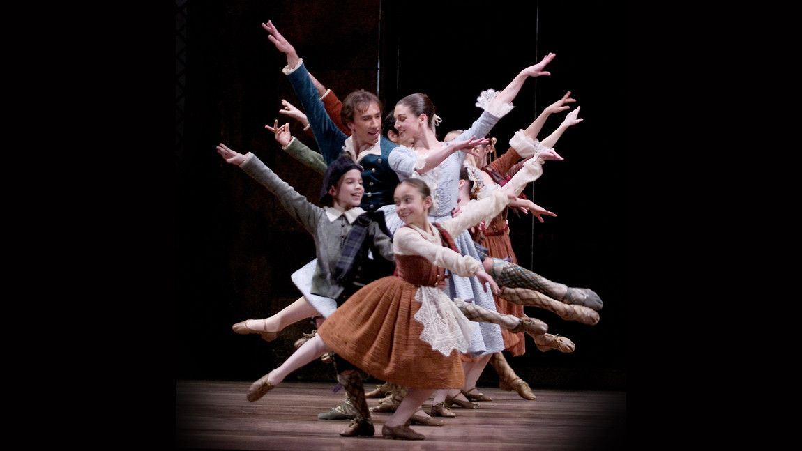 Boston Ballet in August Bournonville's La Sylphide.