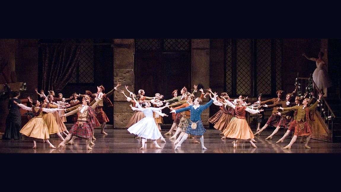 Boston Ballet in August Bournonville's La Sylphide Photo credit: Angela Sterling
