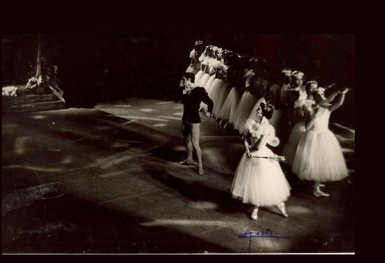 Edward Villella, Anamarie Sarazin in Giselle circa 1968