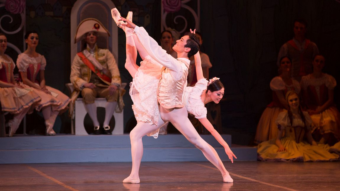 Jeffrey Cirio and Misa Kuranaga in George Balanchine's Coppélia