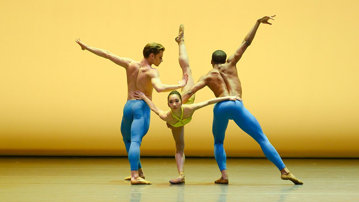 Derek Dunn, Chisako Oga, and Lawrence Rines in Helen Pickett's Petal