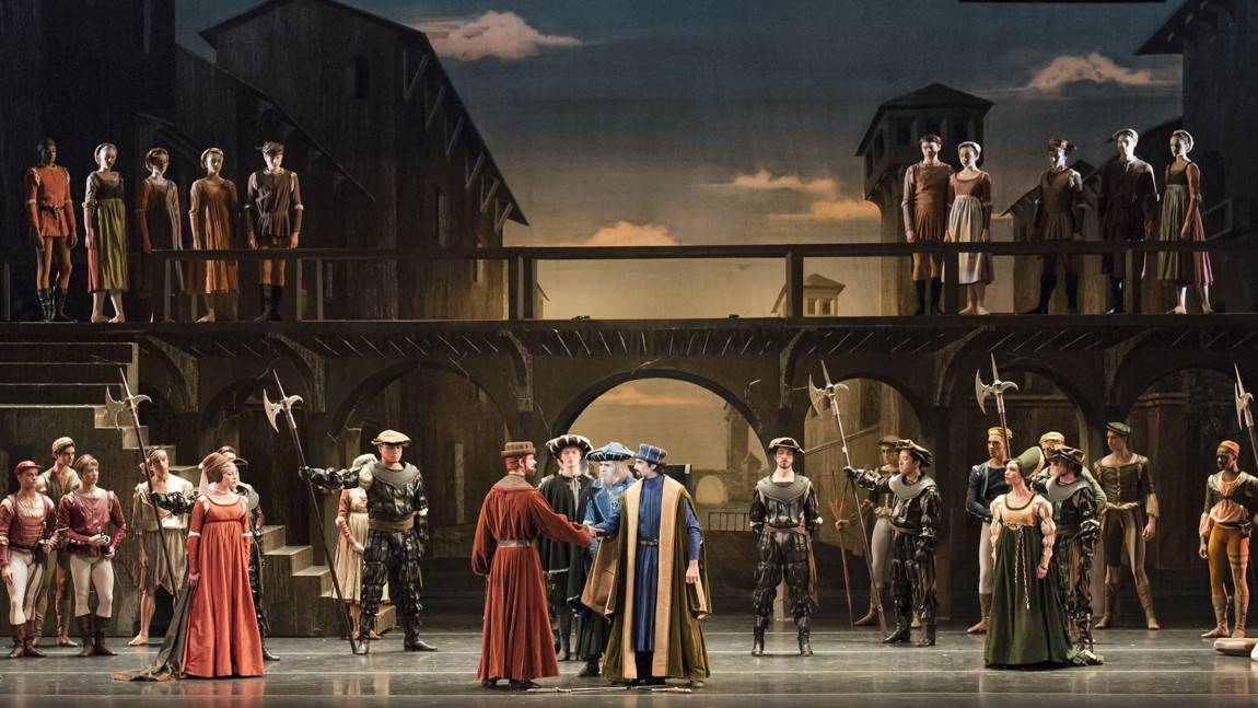 Boston Ballet in John Cranko's Romeo & Juliet