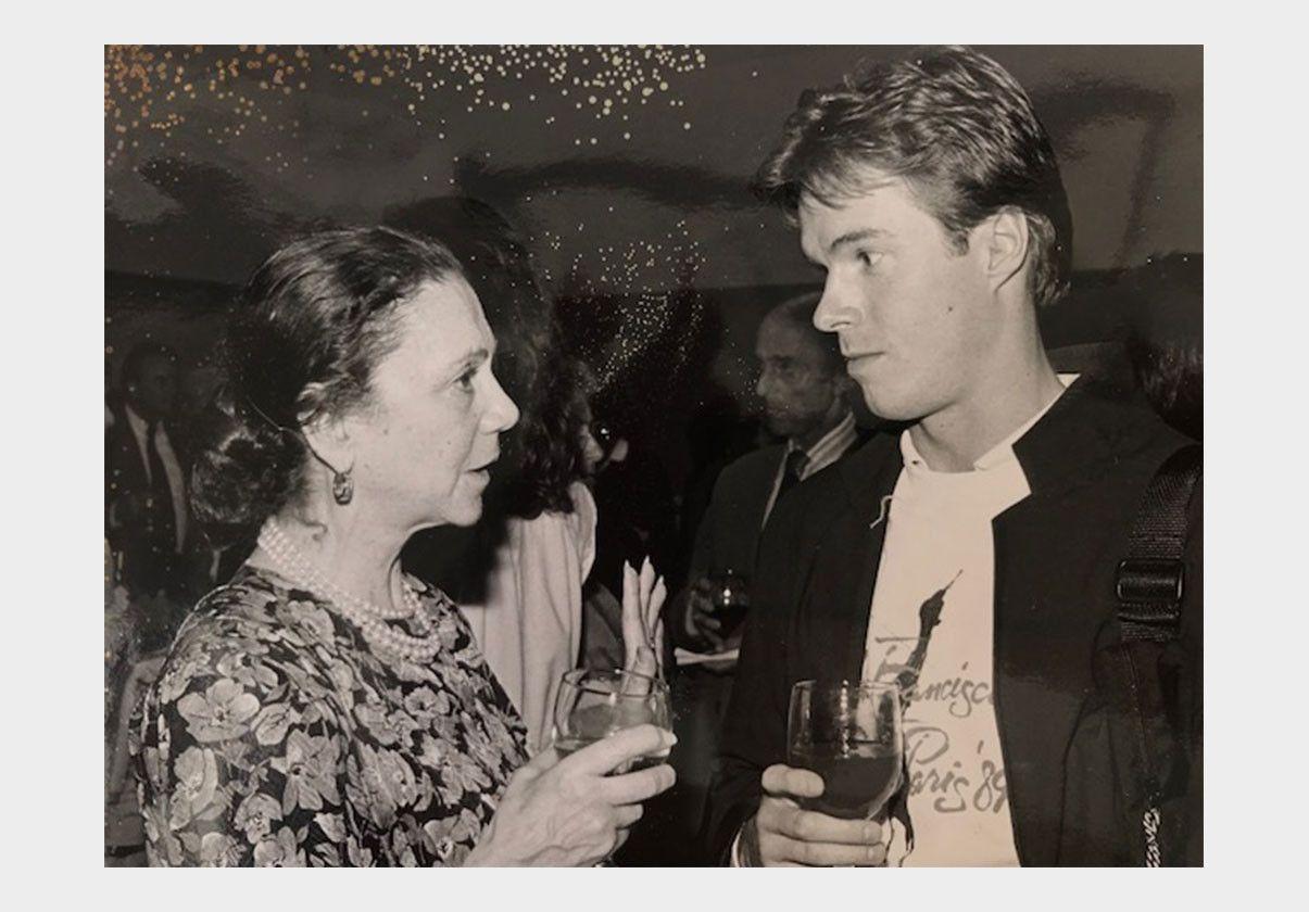 Mikko Nissinen and Irina Yakobson, circa 1985.