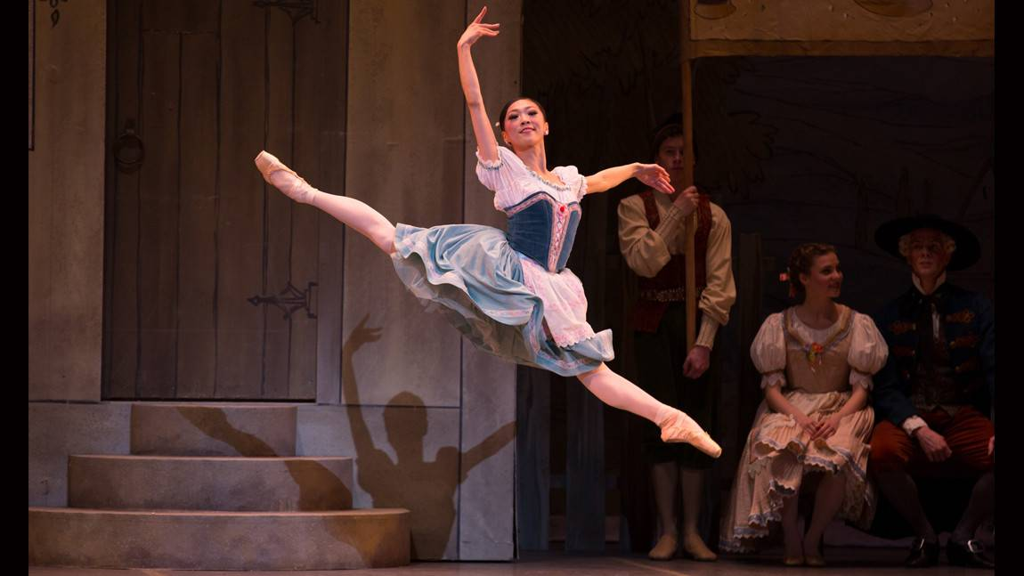 Misa Kuranaga in George Balanchine's Coppélia