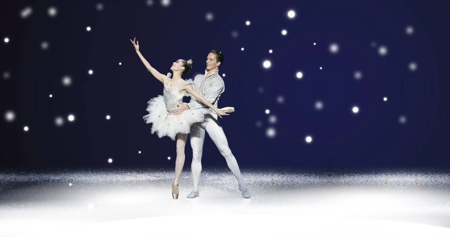Tickets for Boston Ballet's The Nutcracker go on sale July 9, 2018. Image Hannah Bettes and Paul Craig by Rachel Neville Photography