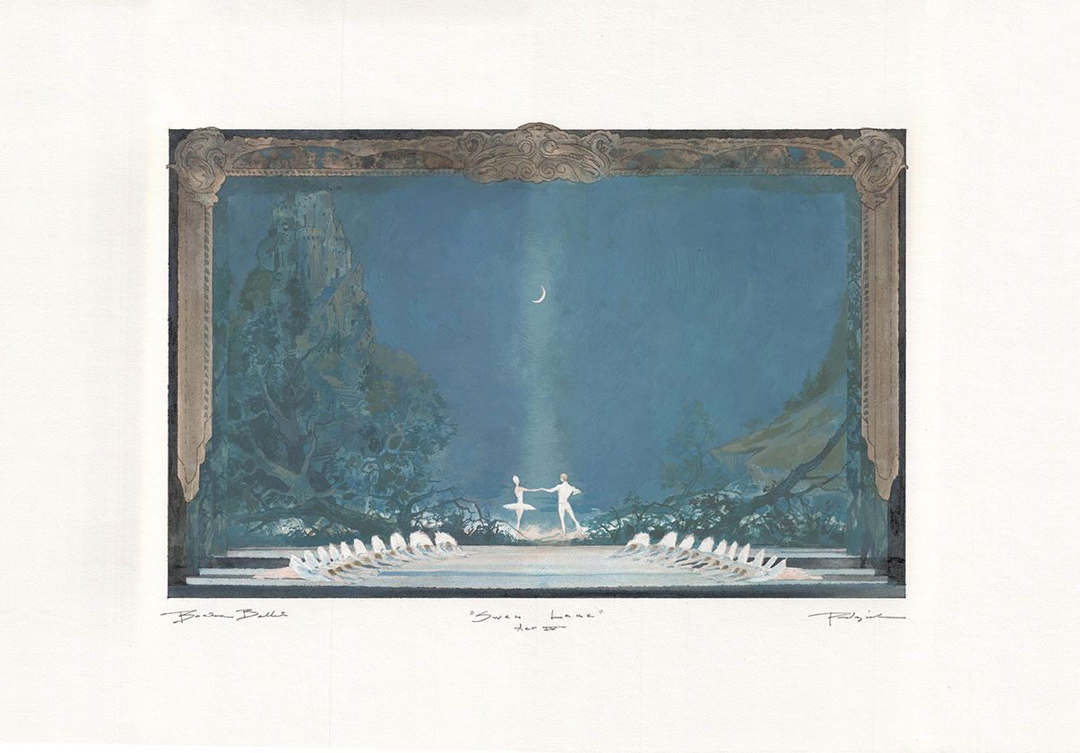A sketch of the sets in Act IV by Robert Perdziola; ©Robert Perdziola
