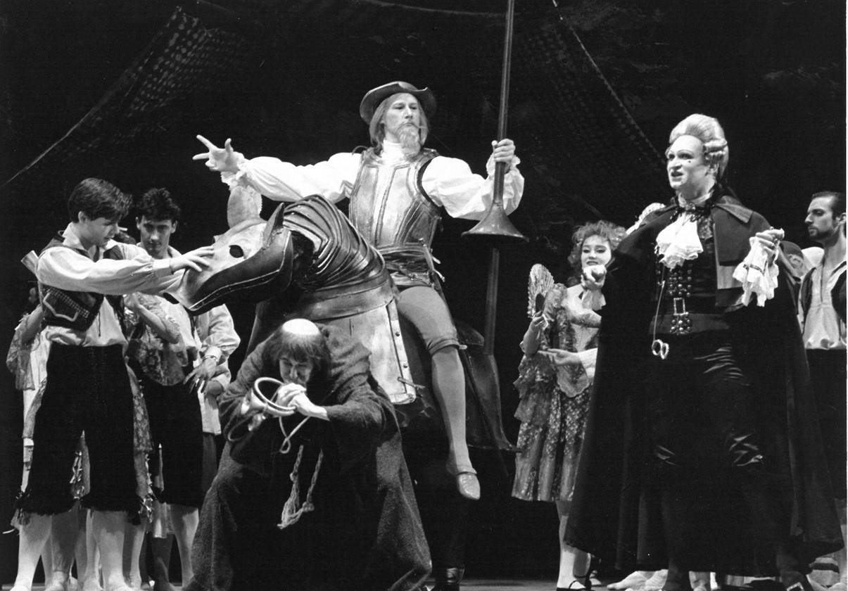 Arthur Leeth and Vadim Strukov in Don Quixote