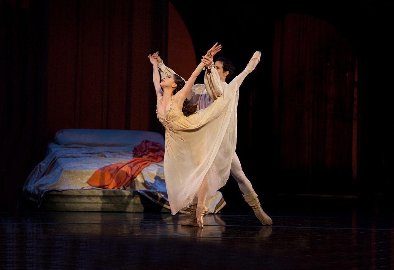 Misa Kuranaga, Nelson Madrigal in John Cranko's Romeo & Juliet by Rosalie O'Connor