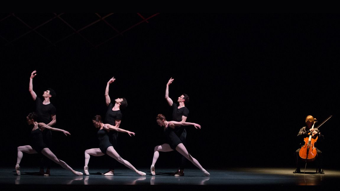 Boston Ballet in Jorma Elo's Bach Cello Suites. Photo by Rosalie O'Connor