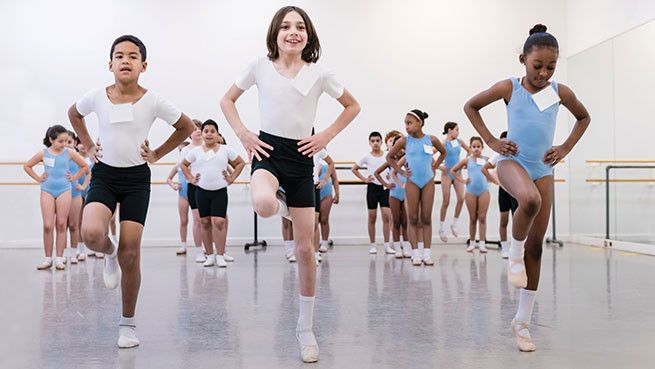 A tuition-free introduction to dance for third grade students in Boston Public Schools.