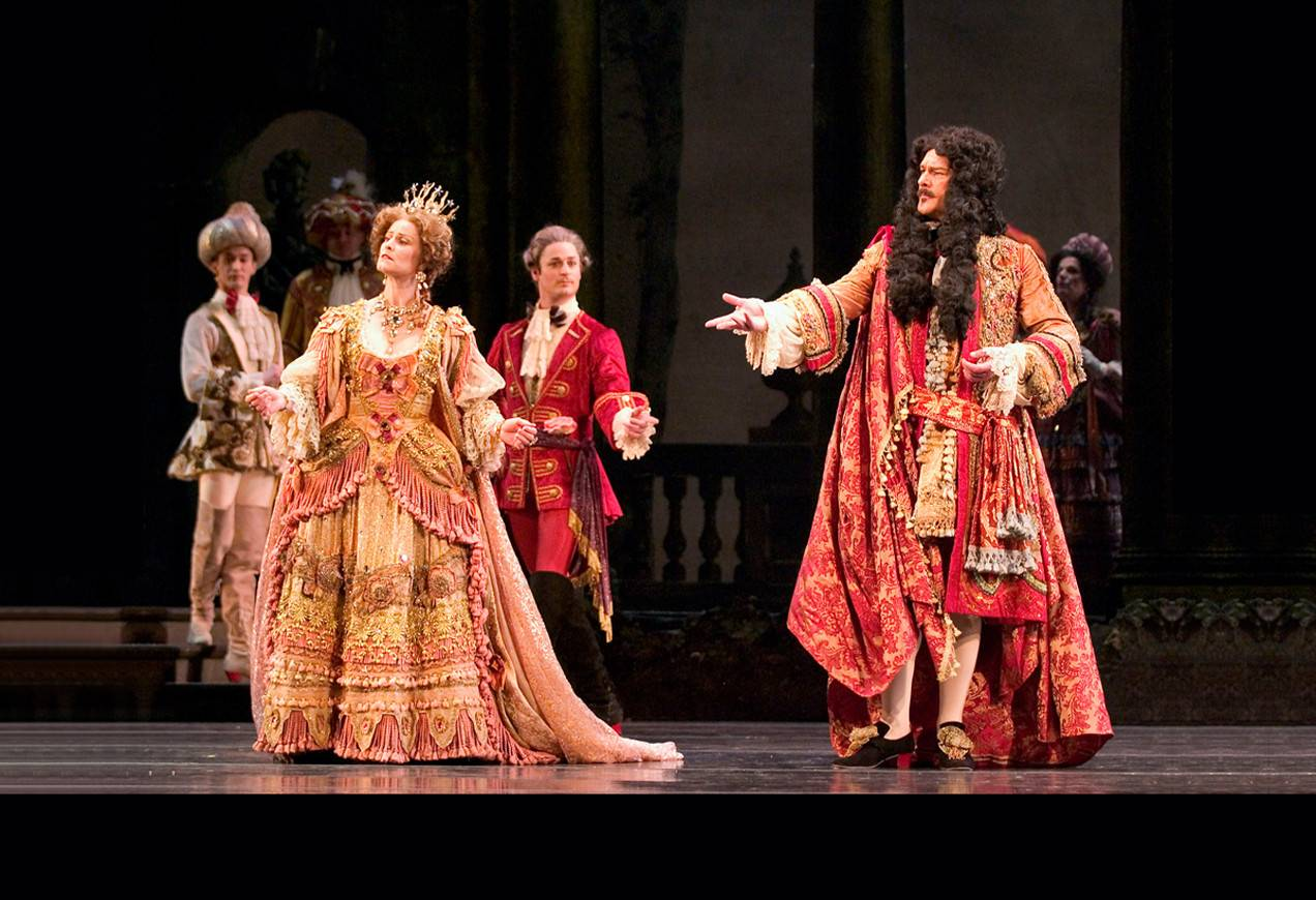 Arthur Leeth and Elizabeth Olds in Marius Petipa's The Sleeping Beauty