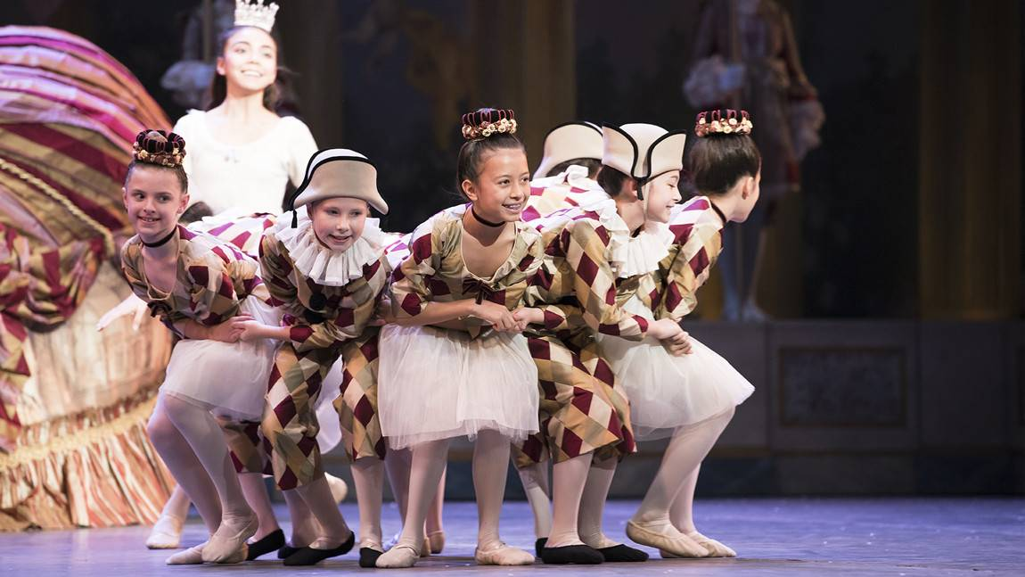 Boston Ballet School Students as Polichinelles