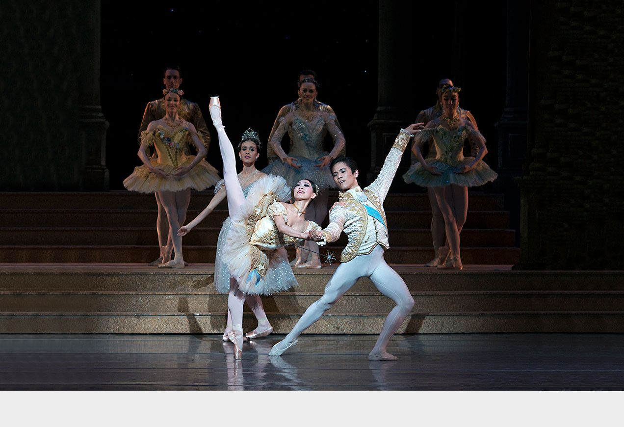 Misa Kuranaga and Jeffrey Cirio in Ashton's Cinderella by Gene Schiavone