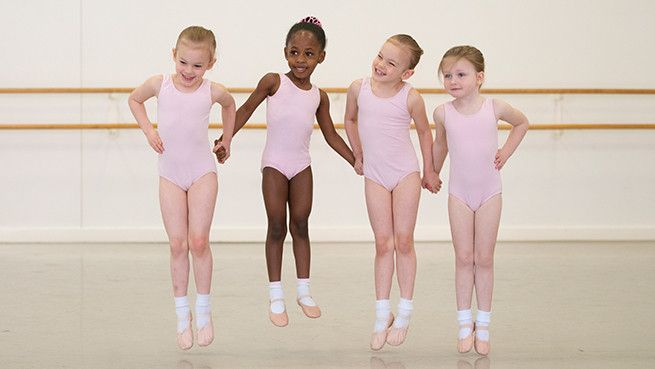 Introduce your child to the work of dance, programs for children 16 months to 7 years of age.