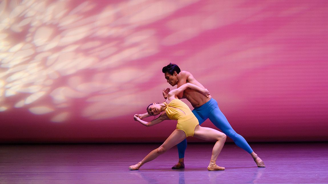 Maria Alvarez and John Lam in Helen Pickett's Petal