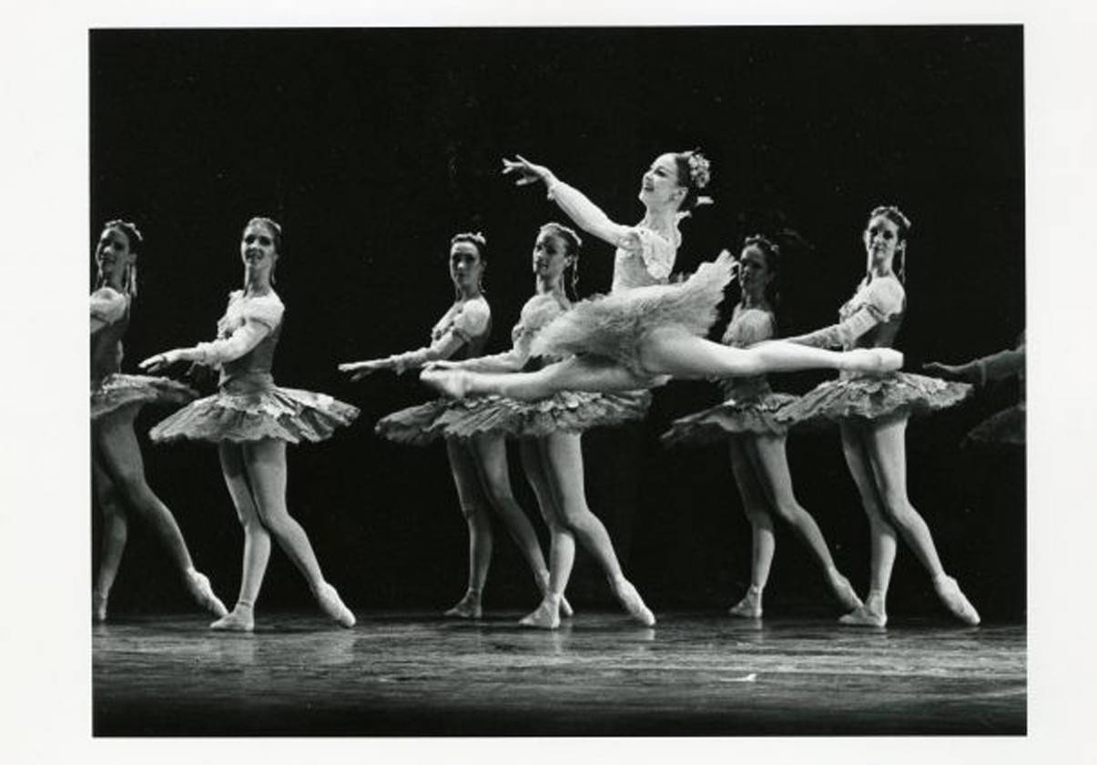 Laura Young in The Sleeping beauty, photo by Abe Epstein, 1979