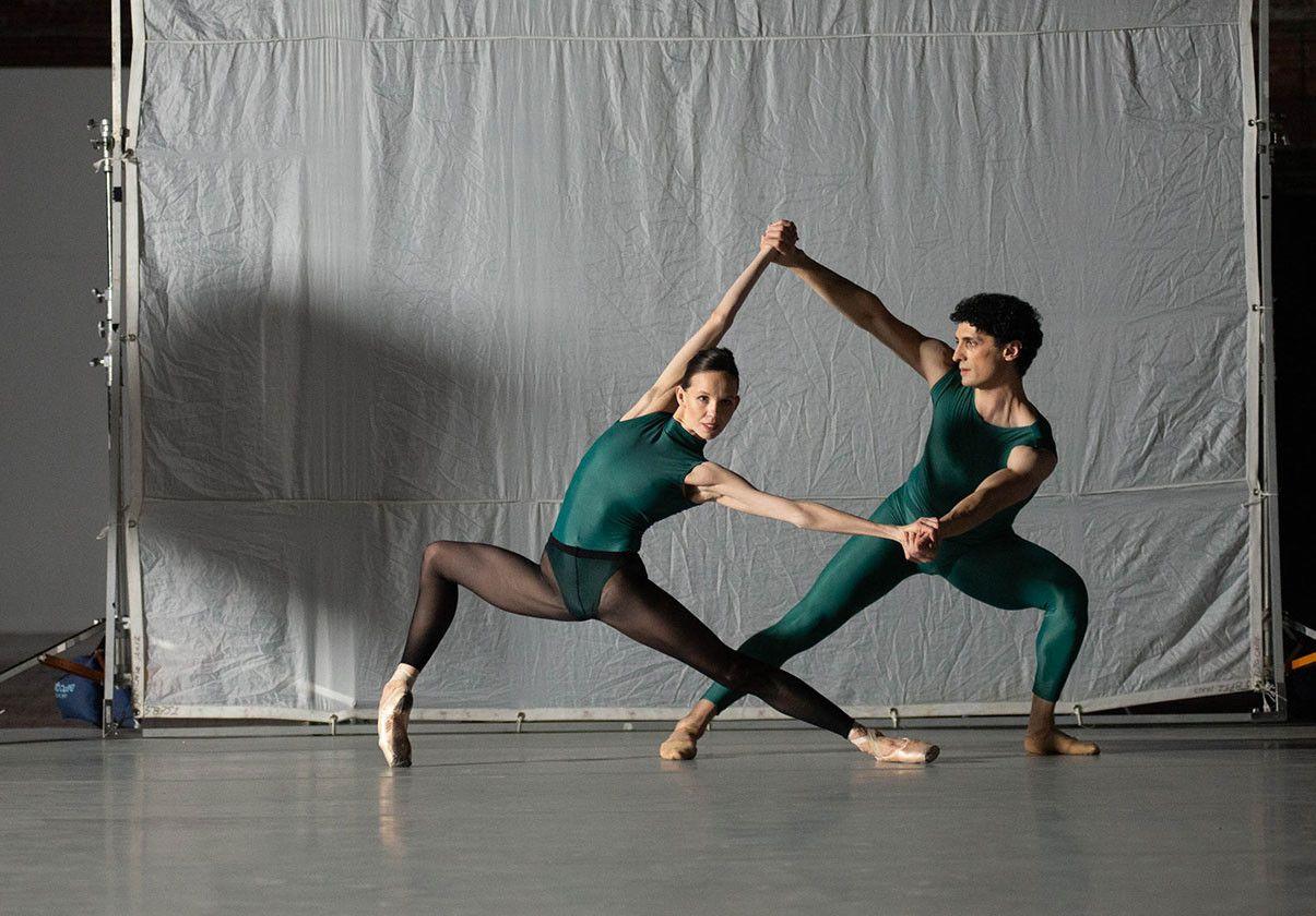 Lasha Khozashvili and Viktorina Kapitonova. Photo by Brooke Trisolini.