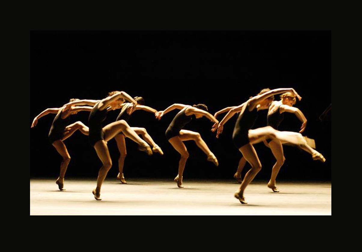 Boston Ballet in Jiri Kylian's Falling Angels. Photo by Eric Antoniou