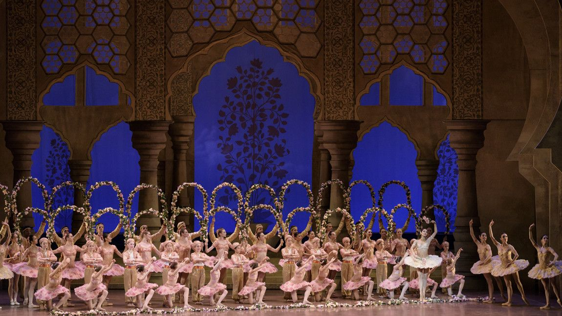 Boston Ballet in Le Corsaire, Le Jardin Anime by Liza Voll.