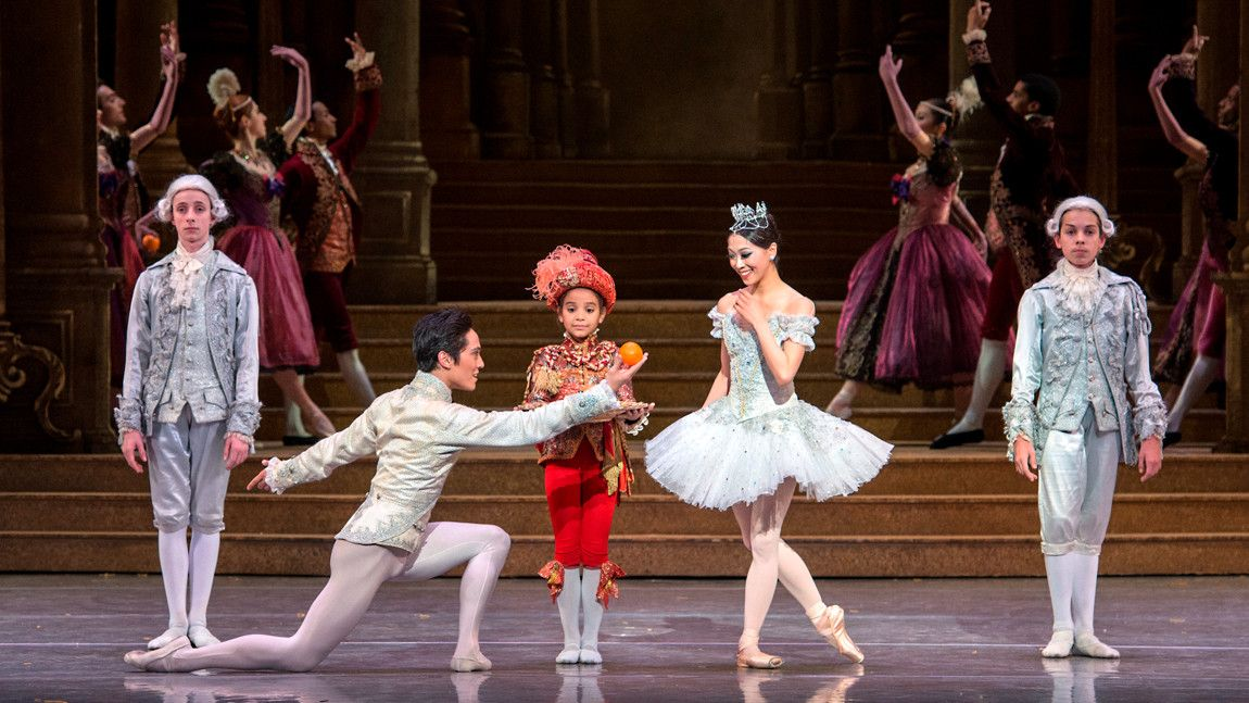 Misa Kuranaga and Jeffrey Cirio in Sir Frederick Ashton's Cinderella
