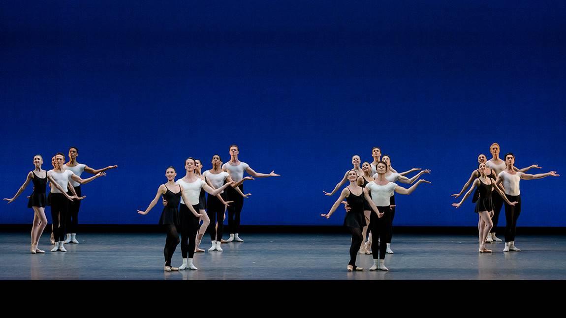 Boston Ballet in George Balanchine's Stravinsky Violin Concerto © The George Balanchine Trust