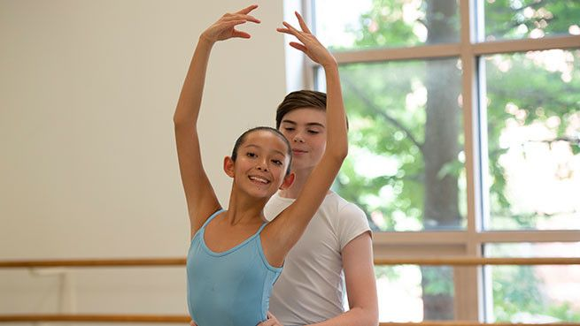 Our highly competitive Professional Division trains select students for a professional career with Boston Ballet and beyond.