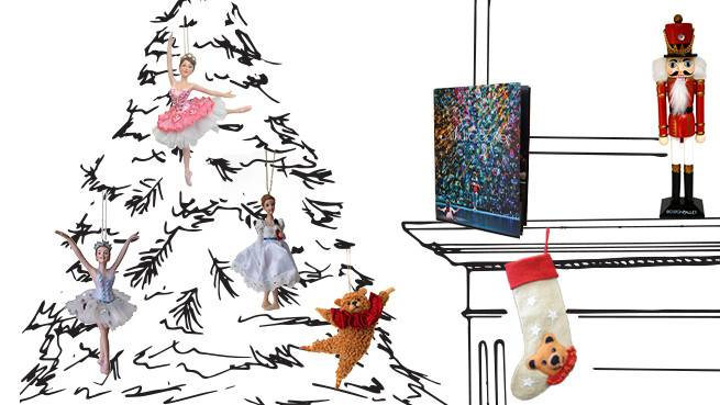Bring the magic of The Nutcracker home. This link goes to the Shop.