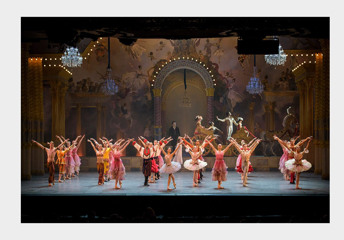 Finale of Boston Ballet's The Nutcracker by Liza Voll