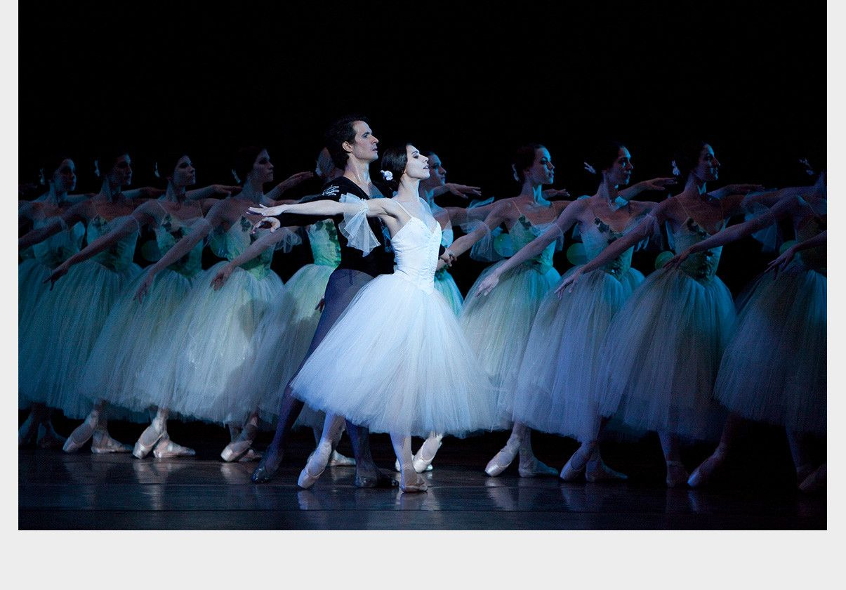 Erica Cornejo and Nelson Madrigal in Giselle after Jean Coralli
