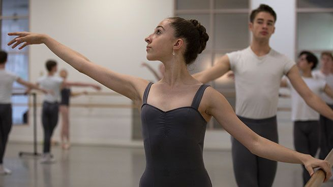 Our highly competitive Pre-Professional Program trains select students for a professional career with Boston Ballet and beyond.