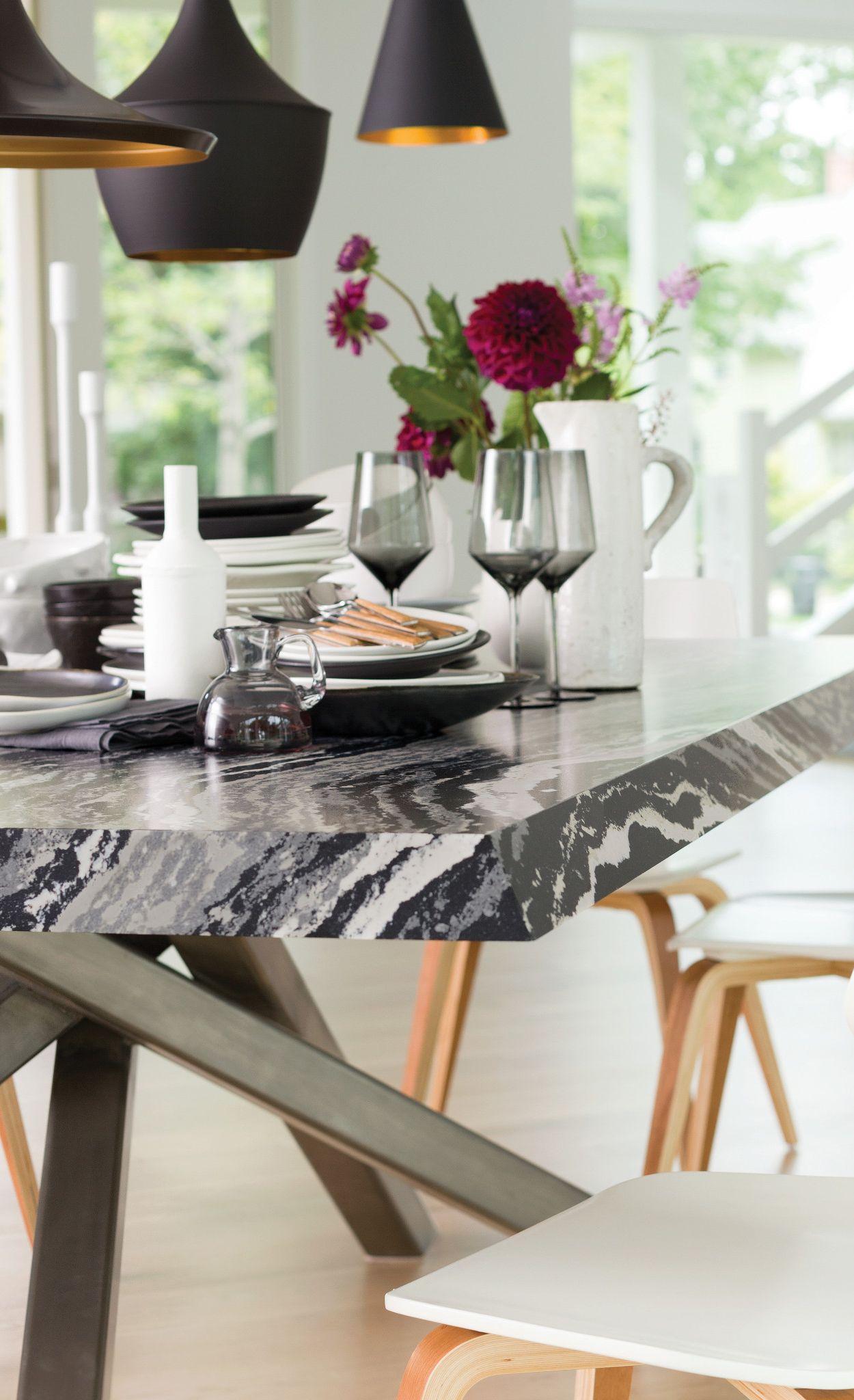 Custom Levven Matte™ tabletop.