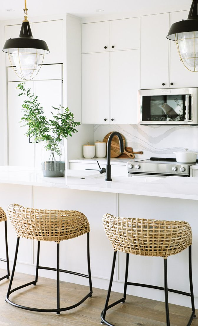 Bring in a bold backsplash with Brittanicca.