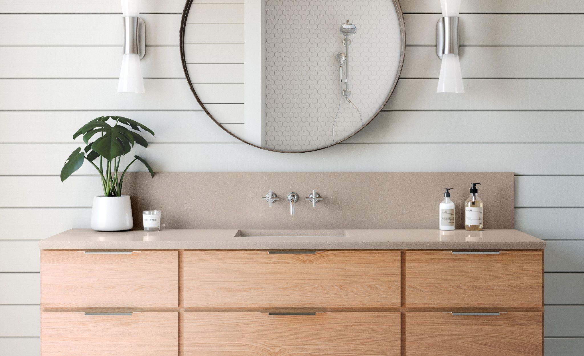 Create a calming, neutral space with Baybridge.