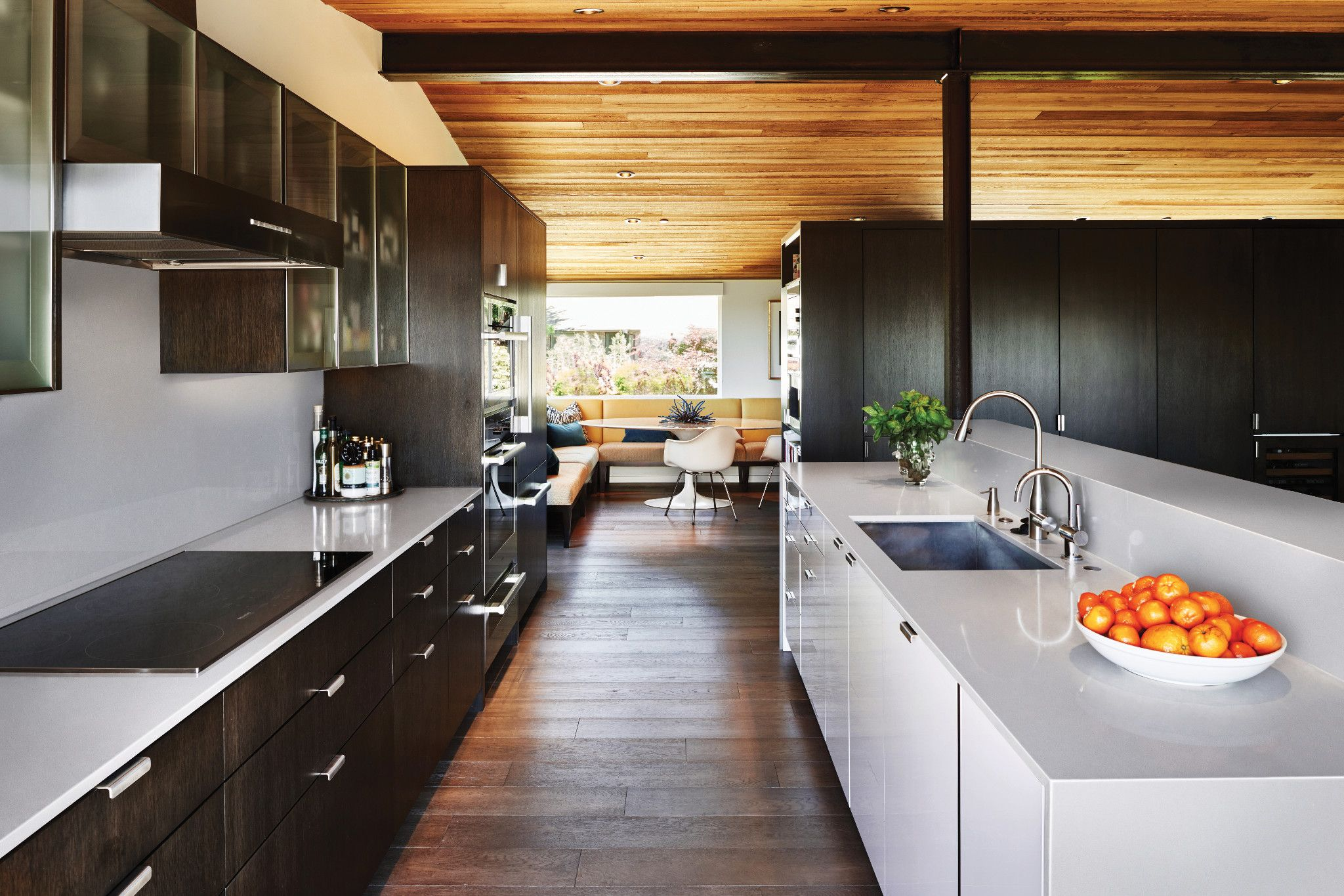 kitchen mid-century contemporary
